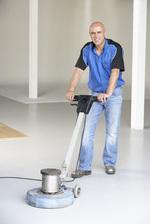 професионално машинно почистване на подове