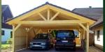Изработване на дървени навеси за автомобили