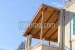 Изграждане на дървени навеси за балкони по поръчка