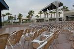 алуминиев стол за заведение за външно и вътрешно ползване